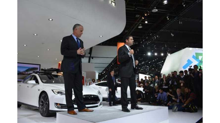 Video: Tesla Motors Press Conference at 2014 NAIAS