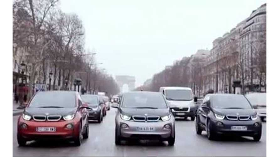 Video: BMW i3 Turns Heads in France