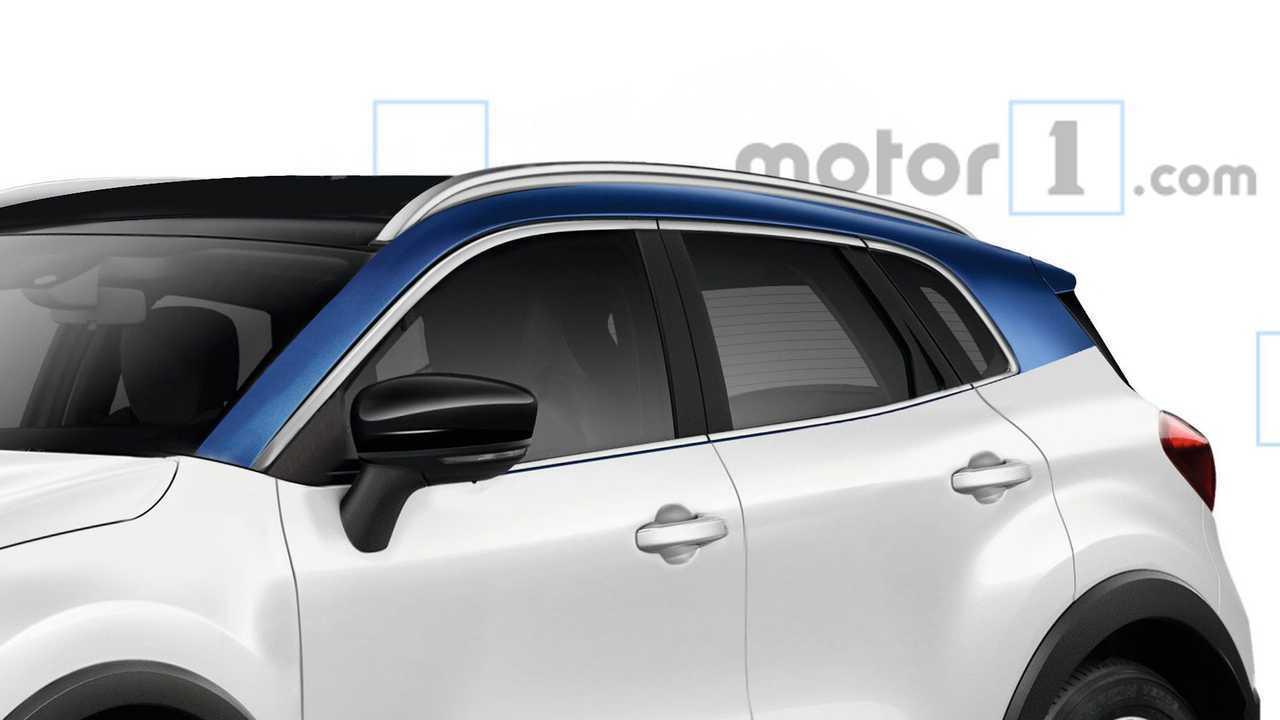 Renault Captur 2020 - Projeção