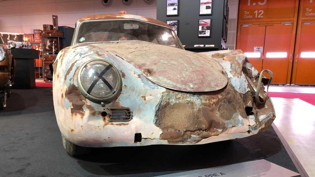 1955 Porsche 356 Pre-A Barn Find