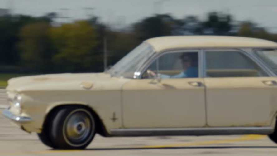 Unsafe at any speed Chevy Corvair