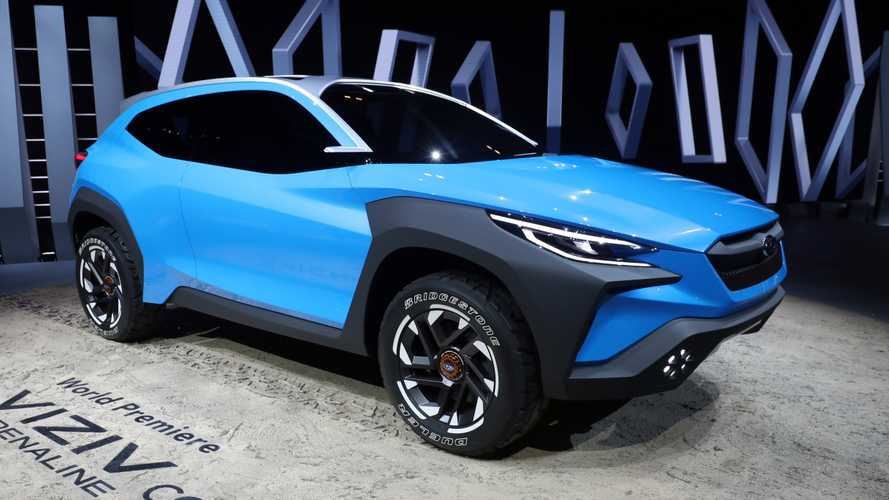 Subaru Viziv Adrenaline Concept highlights rough-and-tumble style