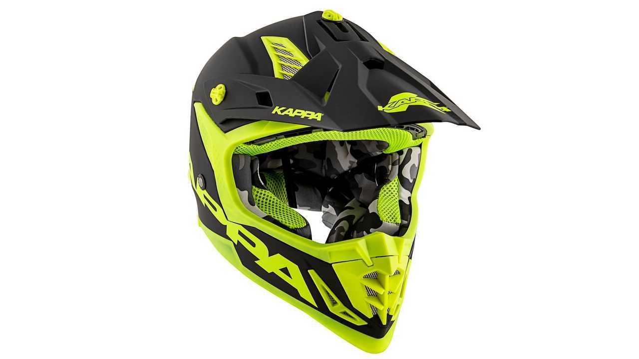 Kappa lanza su primer casco de motocross y enduro fc10226deda80