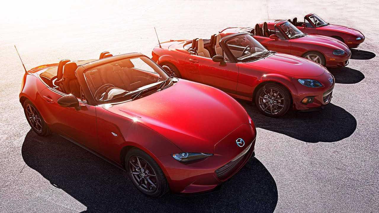 Mazda MX-5, trent'anni di storia