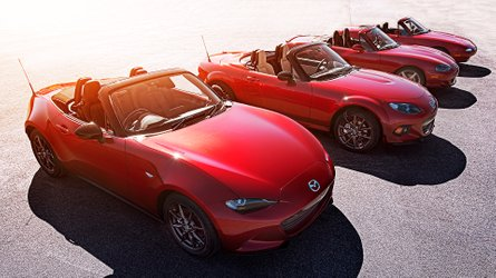 """Mazda MX-5, trent'anni presi alla """"leggera"""""""