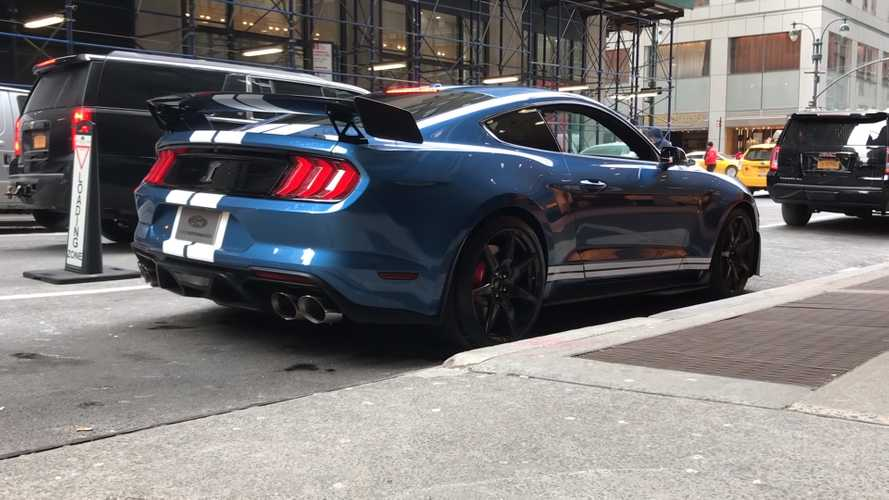Hear The 2020 Shelby GT500 Roar Through Its Four Exhaust Modes