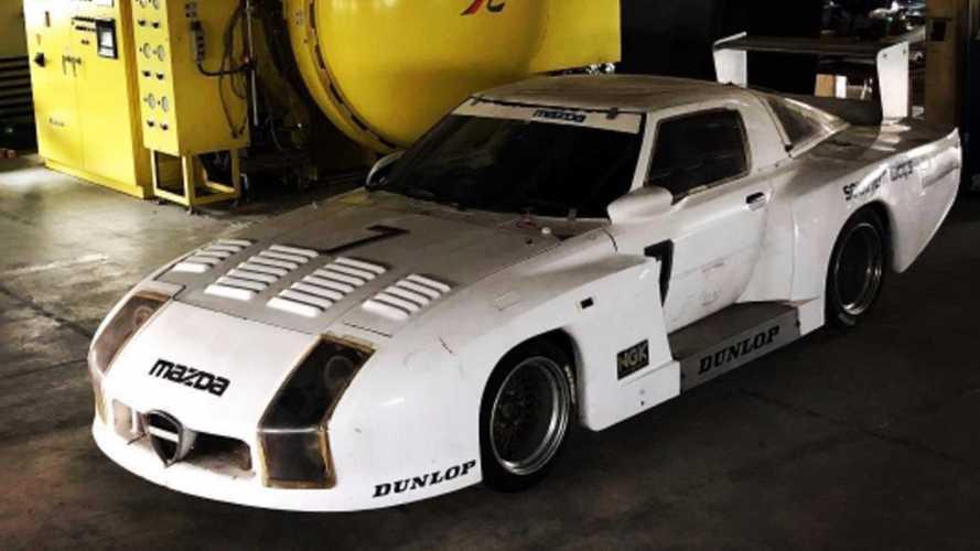 On a retrouvé la Mazda 254i disparue des 24 Heures du Mans 1982