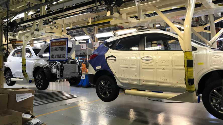 Caoa Chery começa a produção do Tiggo 5X ao lado do Hyundai ix35