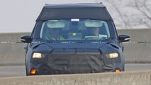 Ford Courier Focus Pickup Spy Shots