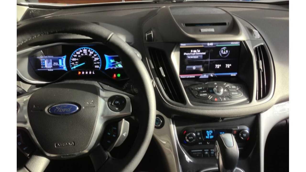 Chevrolet Volt Versus Ford C Max Energi Extended Drive