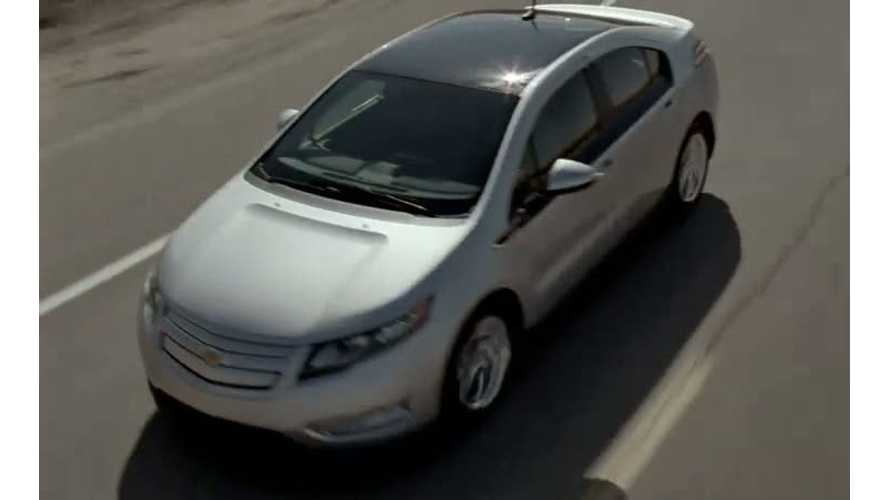 "Plug-In ""Product Placement"" Of The Year Winner:  Chevrolet Volt"