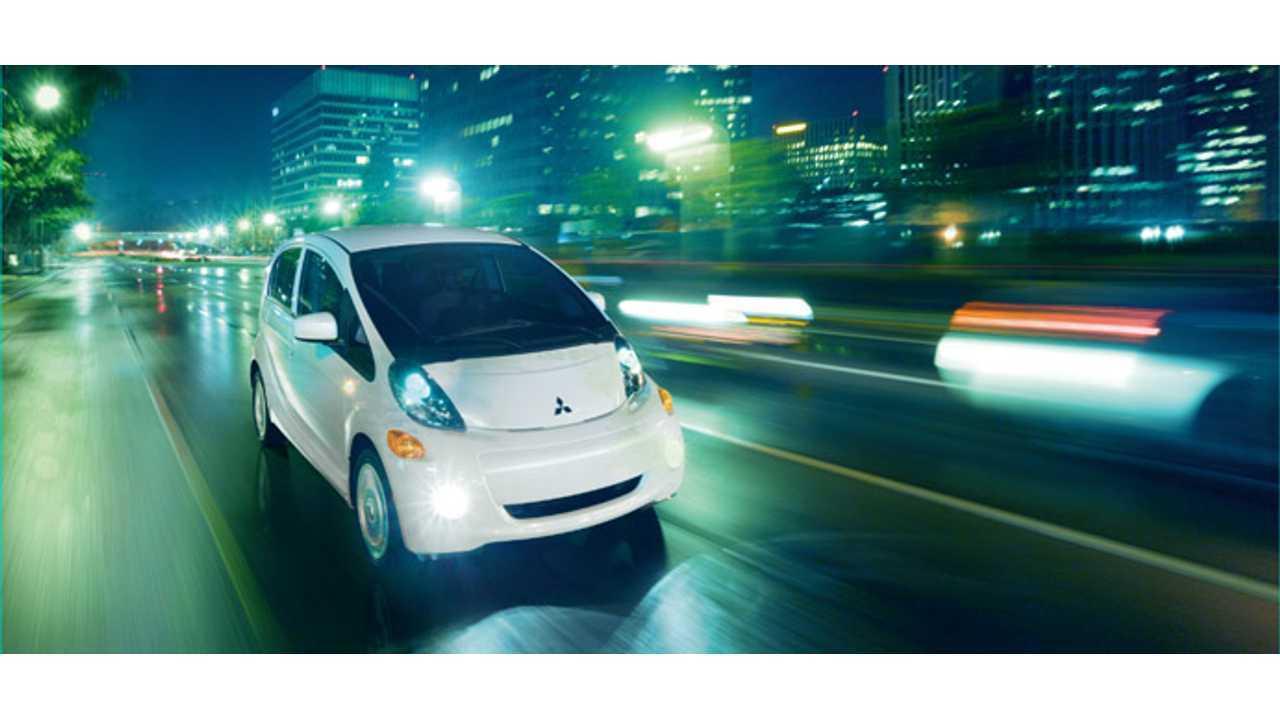 Mitsubishi I Miev Offers 62 Miles Epa Of Electric Driving