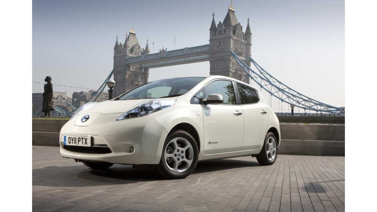 Nissan Cuts LEAF Price In Europe By €3,000 ($4,000 USD)