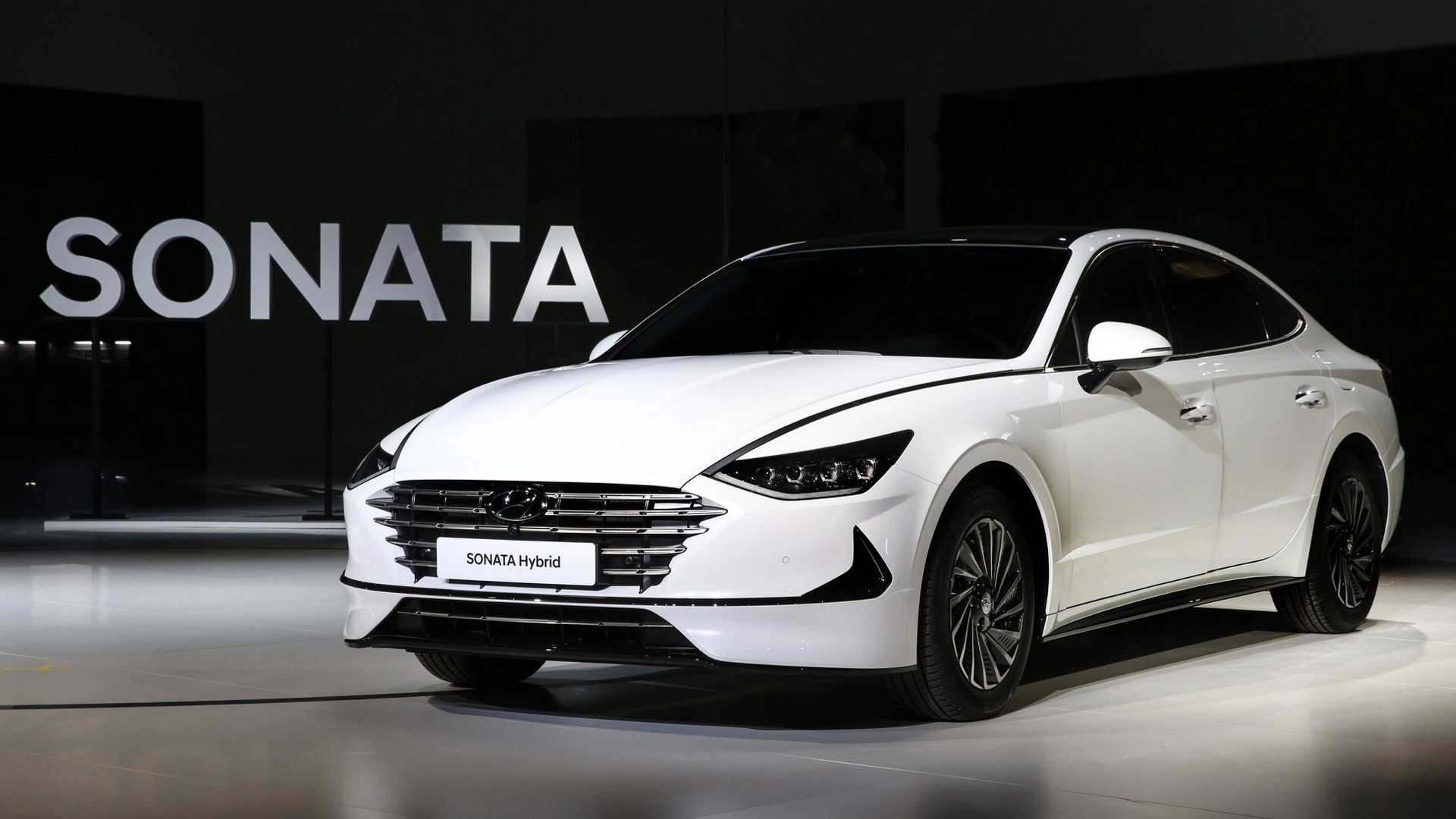 2020 Hyundai Sonata Turbo Debuts In Korea With 180 HP