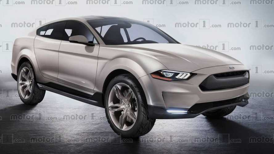 Ford Mustang-Inspired Electric SUV To Go 370 Miles Per Charge