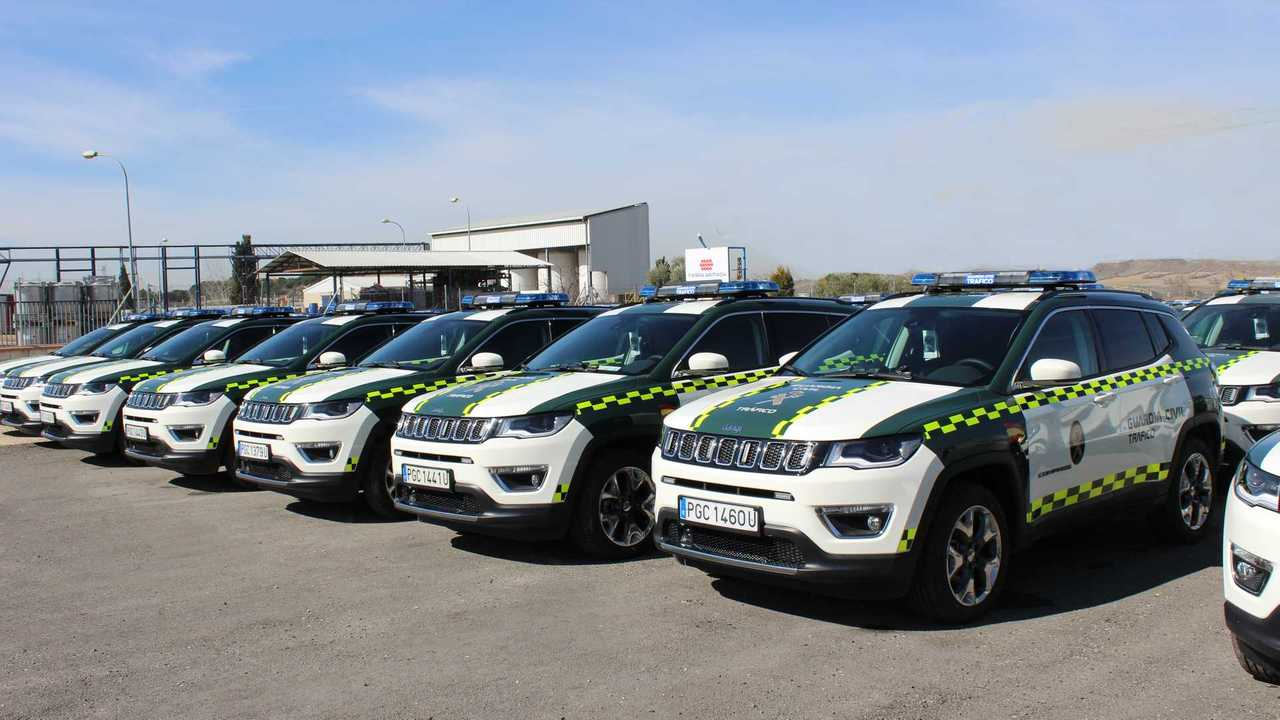 Jeep Compass: Guardia Civil de España