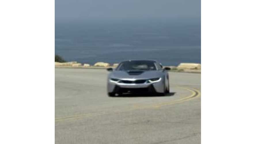 2015 BMW i8 Videos From Los Angeles Test Drives