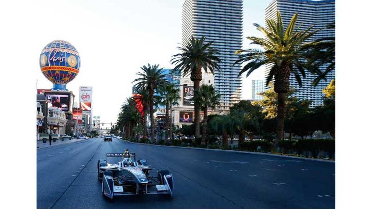 Behind the Scenes of the Formula E Las Vegas Drag Strip Video