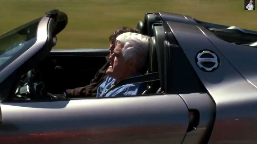 Jay Leno Gets His Hands On A 2015 Porsche 918 Spyder - Video