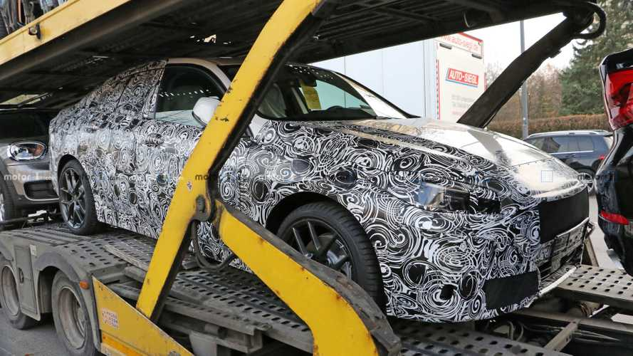 BMW 2 Series Gran Coupe 'Experimental Vehicle' spied up close