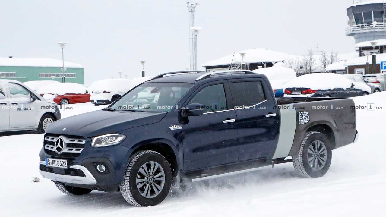 Mercedes X-Class Extended Spy Photo