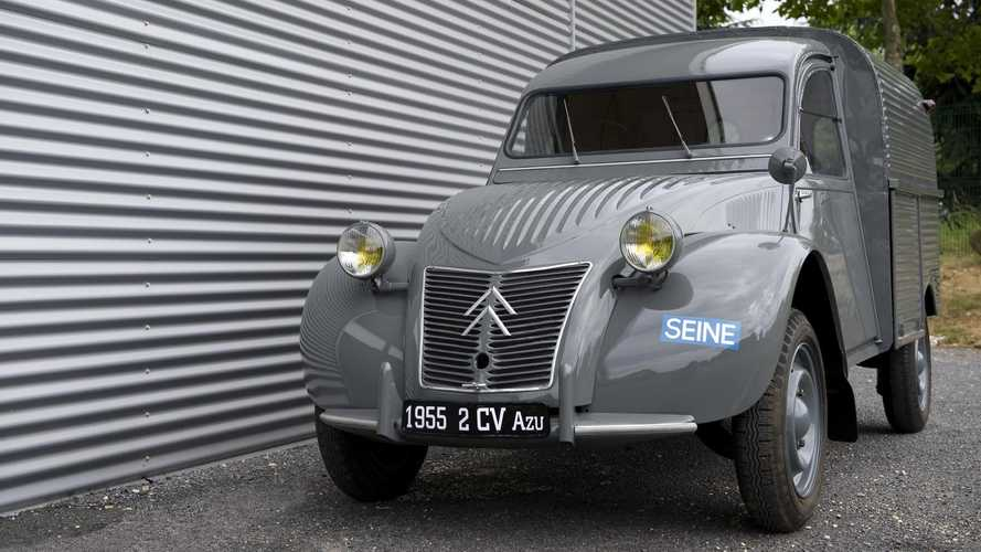 Furgonette Citroën. In origine fu la 2CV
