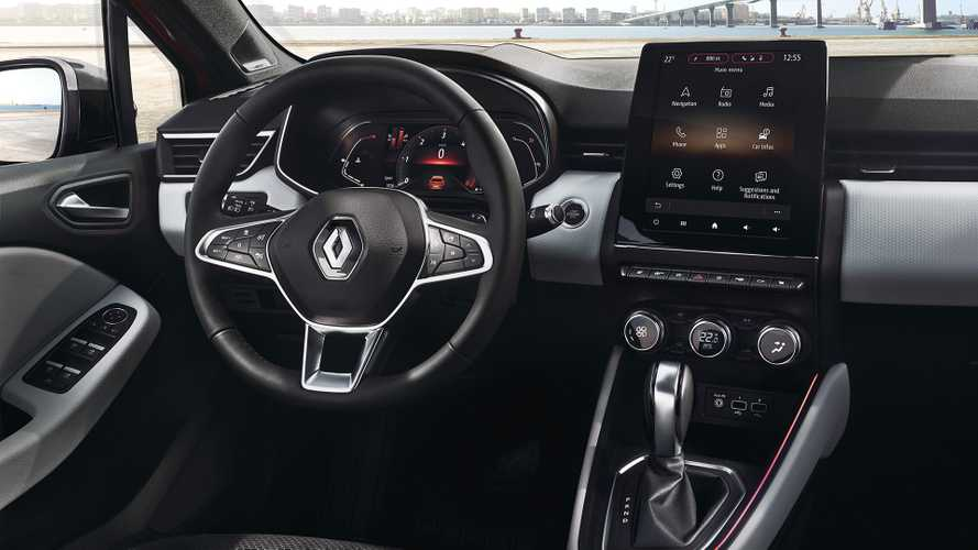 2019 Renault Clio Shows Revamped Cabin In First Official Photos