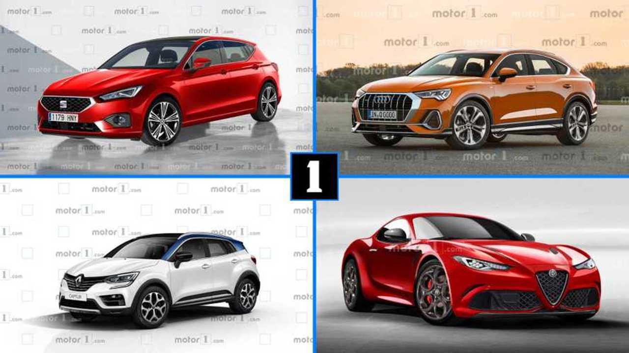 Die besten Renderings (Autos der Zukunft) Collage 2