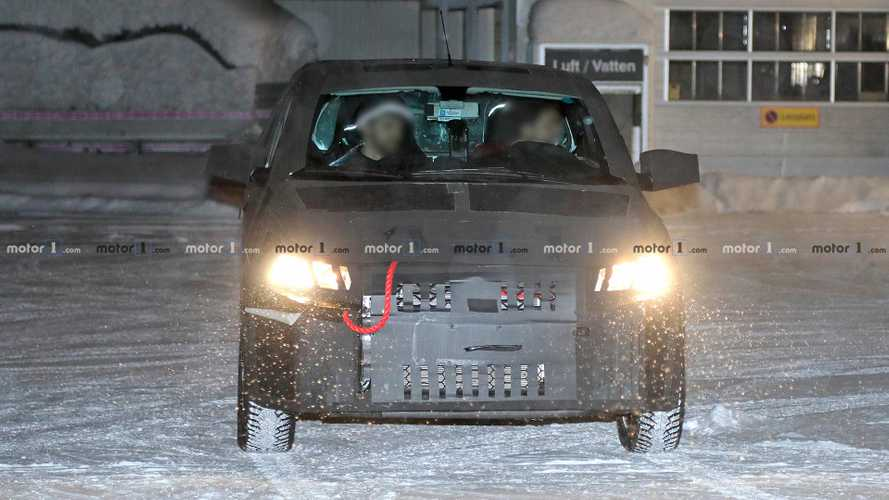 Fiat Mobi Pickup Spy Shots
