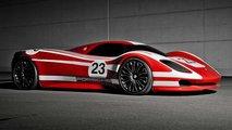 porsche 917 concept 50 anni