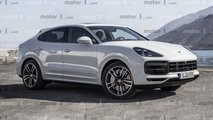 Porsche Cayenne Coupe, it rendering