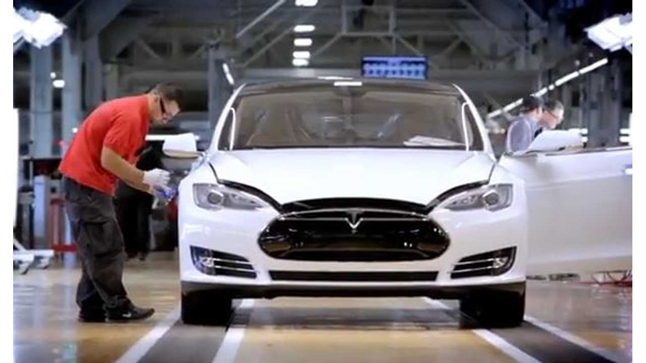 Video: Wired Takes Us Behind the Scenes of Tesla Model S Production