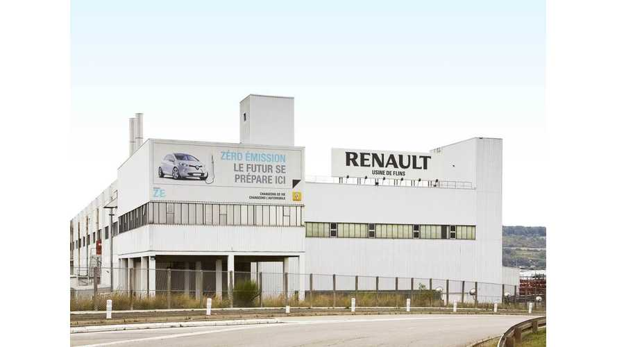 Renault ZOE Electrifies the Flins Factory