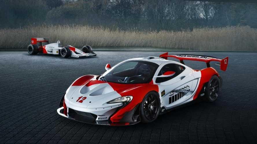 McLaren возродил MP4/4 Айртона Сенны в ливрее P1 GTR