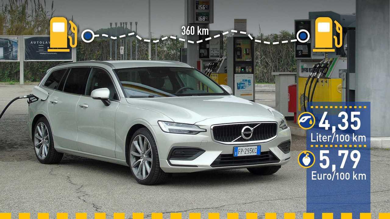 2018 Volvo V60 Verbrauchstest