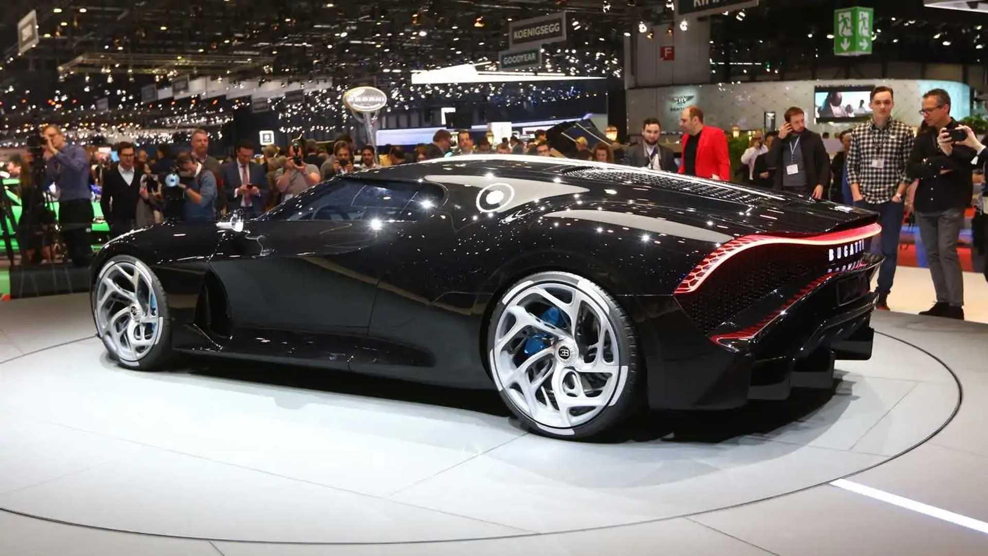 Bugatti La Voiture Noire Allegedly Bought By Cristiano Ronaldo Update