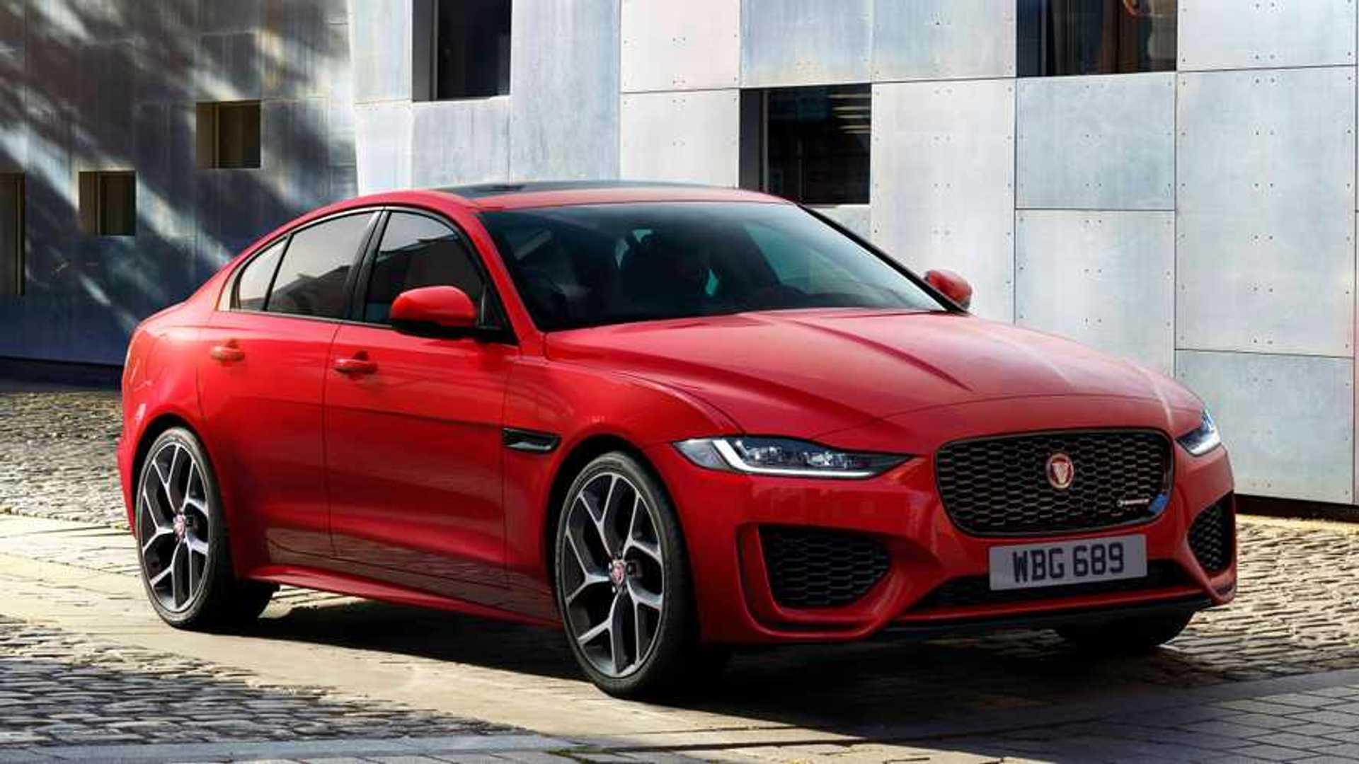 2020 Jaguar XE Redesign