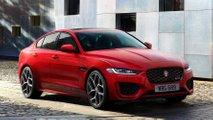 Jaguar XE szedán (Frissített)