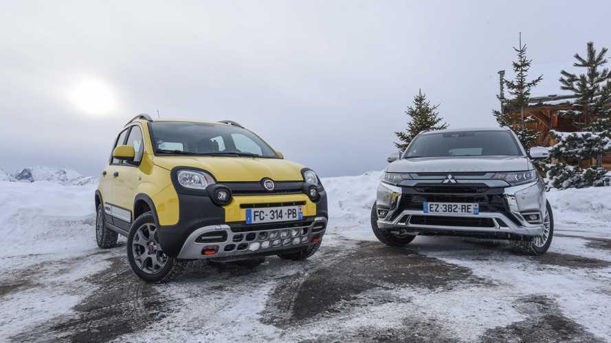 Fiat Panda 4x4 vs Mitsubishi Outlander PHEV
