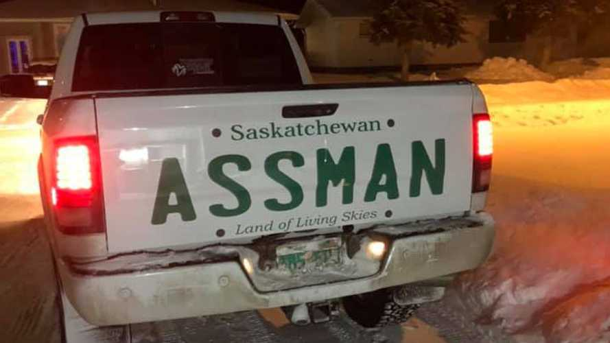 Mr. Assman has last laugh over denial of personalised plates