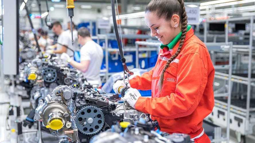 Közel 2 millió motort gyártottak le az Audi győri üzemében