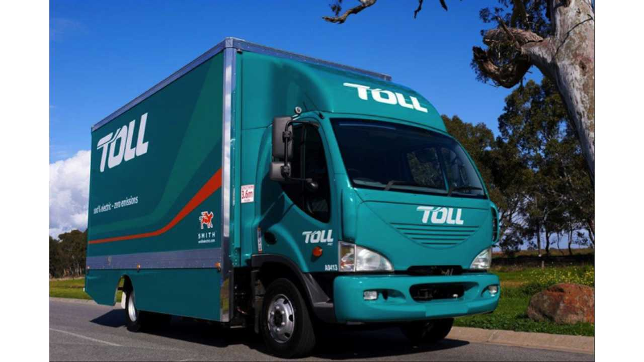 Australia's First All-Electric Truck Now in Service