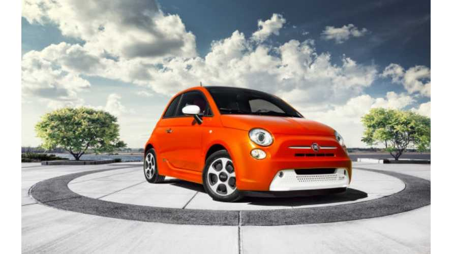 Fiat 500e Buyers Are Mostly Opting for Electric Orange Paint Color