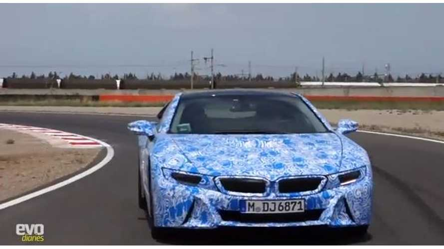 Video: BMW i8 Hits the Track for Exclusive First Drive