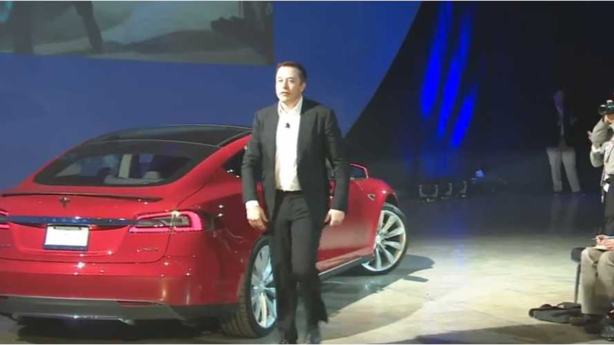 Video: Elon Musk Makes Big Entrance At