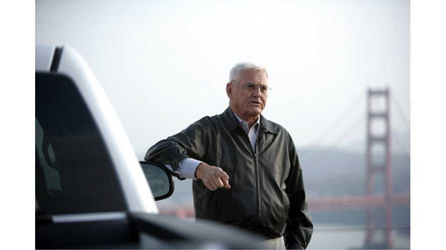 Bob Lutz Takes Over As Chairman At VIA Motors
