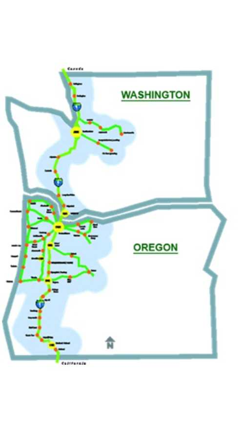 West Coast Electric Highway Expands Into Washington State