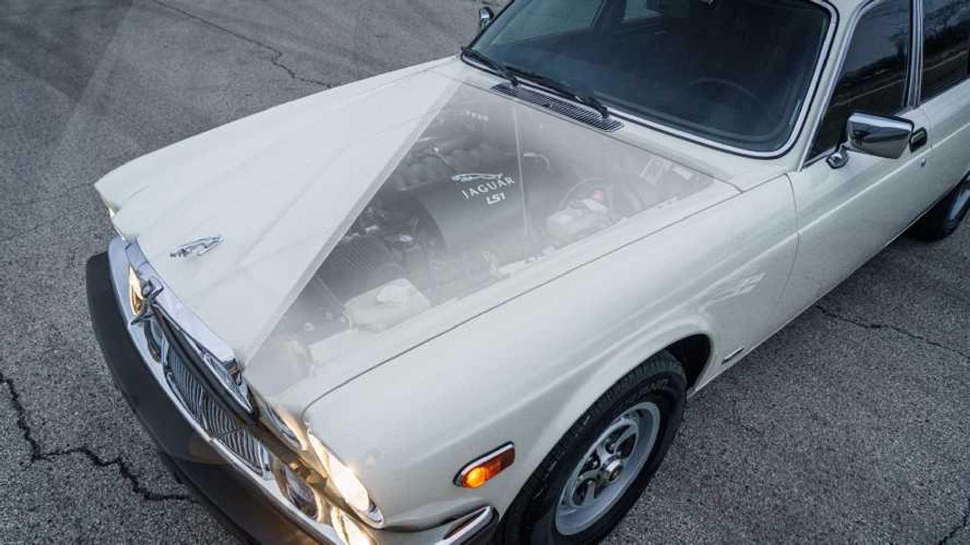"""[""""1987 Jaguar XJ6 LS1-a V8""""]"""
