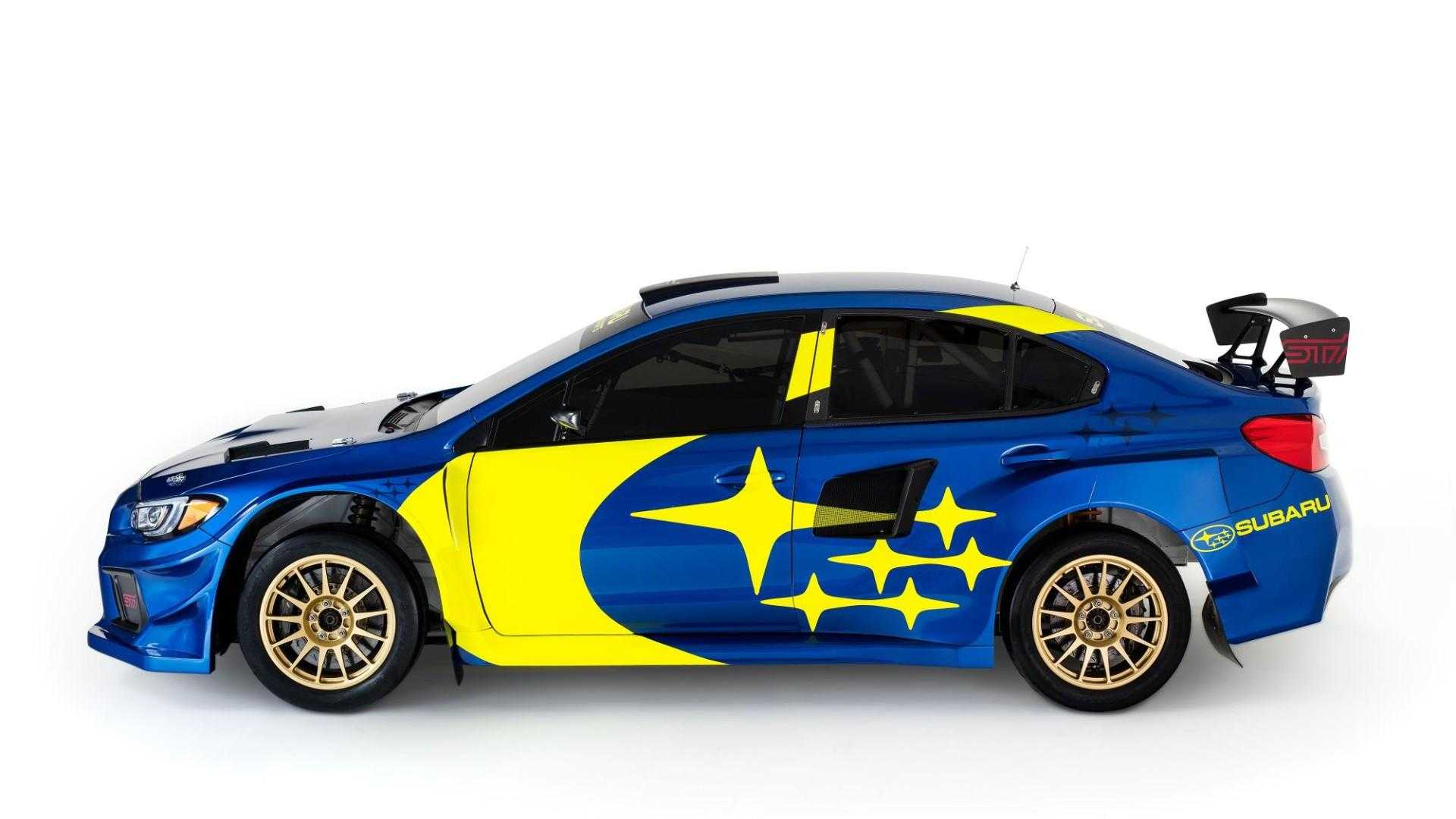 """[""""Subaru to revive iconic WRC livery for 2019 rally cars""""]"""