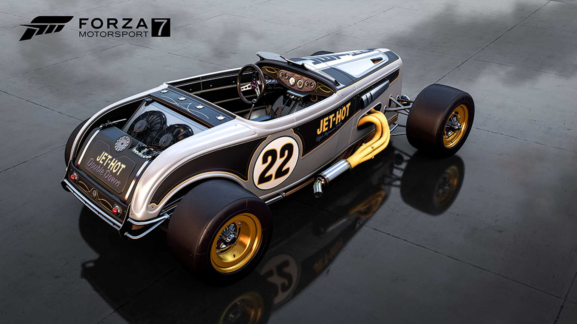 Forza 7 Announces Barrett-Jackson Car Pack With 7 Cool Rides